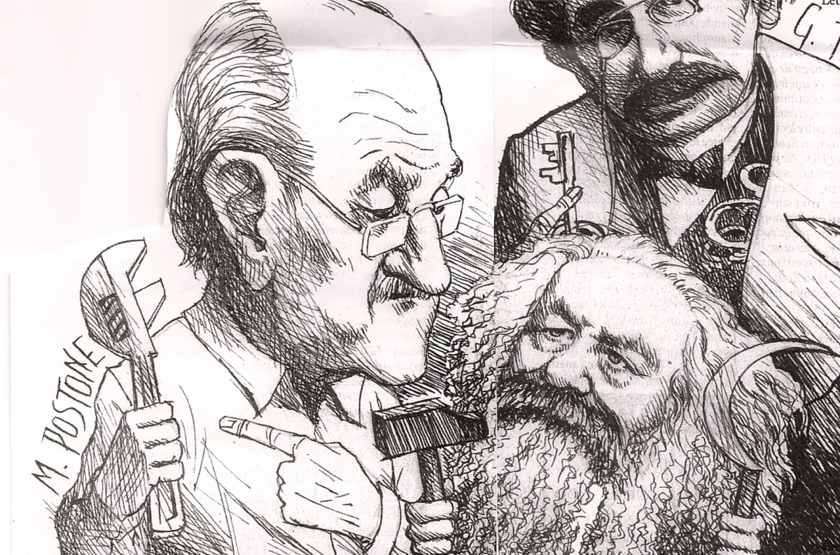 Johannes et Paul nous ont parlé de l'anti-capitalisme et de l'antisémitisme