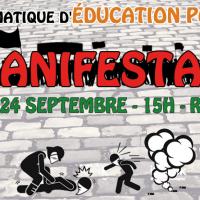 Controverse publique à debout éducation populaire : pour ou contre la manifestation?