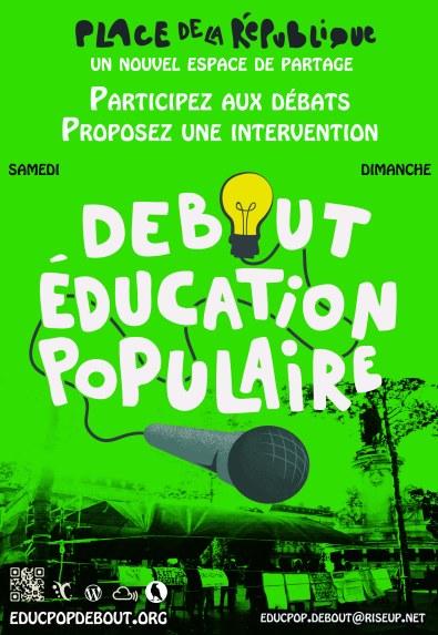 affiche educpop vert