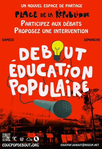 affiche educpop rouge