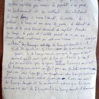 """Atelier écriture : """"le temps"""""""