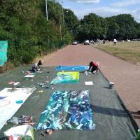Ateliers divers au festival d'été de l'association Zaba Kuzinga