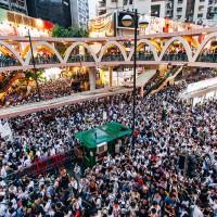 Lun est venu nous parler de la mobilisation à Hong Kong