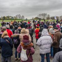 Debout Éducation Populaire au Parc de L'air des vents à Dugny