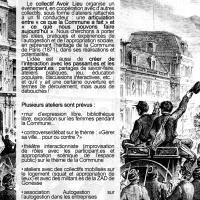 """Journée thématique """"Appropriations collectives"""""""